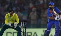 मोहाली टी-20 : डी कॉक के अर्धशतक पर कोहली की पारी ने फेरा पानी, 7 विकेट से जीता भारत- India TV Paisa