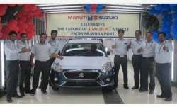 Maruti crosses 10-lakh-exports milestone from Mundra Port- India TV Paisa