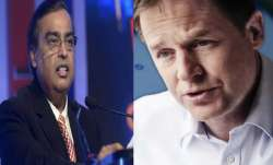 mukesh ambani and Nick Clegg- India TV Paisa