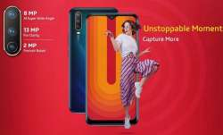 Vivo U10 with 5000mAh battery, tri-camera set-up launched in india at Rs 8,990- India TV Paisa