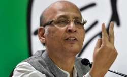 Congress leader Abhishek Singhvi- India TV Paisa