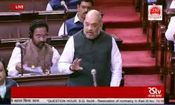 Amit Shah reply in Rajya Sabha on normalcy situation in jammu and kashmir- India TV Paisa