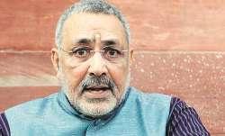 एनआरसी हिंदुस्तान की मांग, बाहरी लोगों को छोड़ना होगा देश: गिरिराज- India TV Paisa