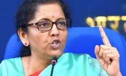 Union Finance Minister Nirmala Sitharaman- India TV Paisa