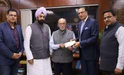 DDCA President Rajat Sharma meets Lt Governor of Delhi Anil Baijal along with Govt nominated DDCA Di- India TV Paisa