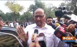 Sharad Pawar Statement before Meeting Sonia Gandhi- India TV Paisa