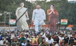 Bharat Bachao rally, Congress, Sonia Gandhi, Rahul Gandhi, Priyanka Vadra Gandhi- India TV Paisa