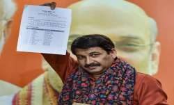 Delhi BJP State President Manoj Tiwari - India TV Paisa