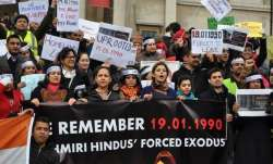 Kashmiri Pandits observe 'holocaust day', seek...- India TV Paisa