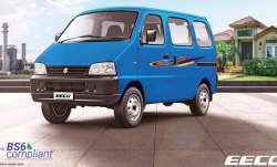 Maruti Suzuki Eeco BS6, Maruti Suzuki India, Maruti BS-VI, Maruti van Eeco- India TV Paisa