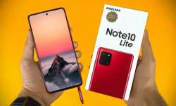 Samsung Galaxy Note10 Lite in India for Rs 38,999- India TV Paisa