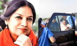 shabana azmi javed akhtar car accident- India TV Paisa