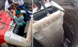 Maharashtra: A bus and a rickshaw fell into a well after...- India TV Paisa