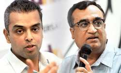 <p>Ajay Maken and Milind...- India TV Paisa