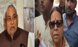 Nitish Kumar and Rabri Devi- India TV Paisa