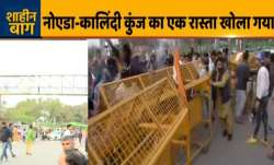 Kalindi Kunj-Noida route opened after more than two months of Shaheen Bagh protest- India TV Paisa