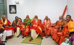 Members of the Sri Ram Janmabhoomi Teerth...- India TV Paisa