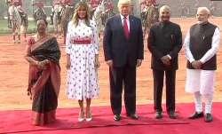 donald Trump at Rashtrapati...- India TV Paisa