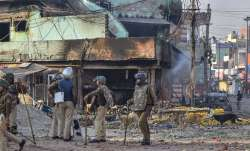 हिंसा वाली जगह पर तैनात सुरक्षाबल- India TV Paisa