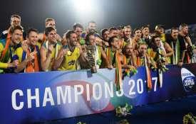 ऑस्ट्रेलियाई हॉकी टीम- Khabar IndiaTV