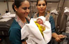 Baby girl born in PIA Flight- Khabar IndiaTV