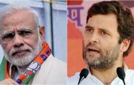 Rahul Gandhi, Narendra Modi, Gujrat election results- Khabar IndiaTV