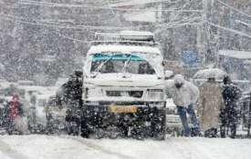 Snowfall-kashmir- Khabar IndiaTV