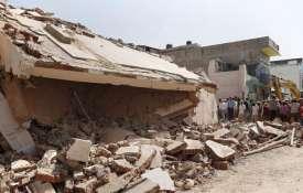 Ajmer cylinder explosion | PTI Photo- Khabar IndiaTV