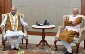 Amit Shah and Narendra Modi | PTI Photo- Khabar IndiaTV