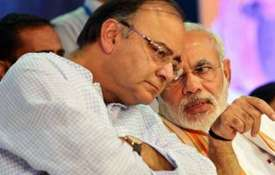 Arun Jaitley and Narendra Modi | PTI Photo- Khabar IndiaTV