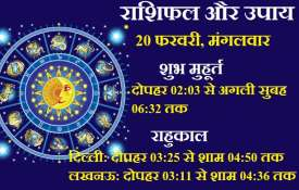 horoscope 20 february 2018 rashifal - Khabar IndiaTV