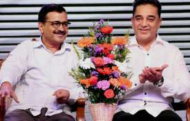 kamal haasan and arvind kejriwal- Khabar IndiaTV