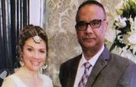 Sophie Trudeau posing with Khalistani terrorist Jaspal Atwal | ANI Photo- Khabar IndiaTV
