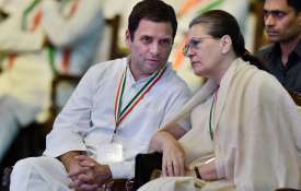 Rahul Gandhi and Sonia Gandhi at Congress plenary session- Khabar IndiaTV