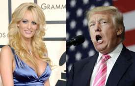 Stormy Daniels and Donald Trump | AP Photo- Khabar IndiaTV