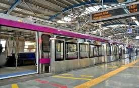 <p>Delhi Metro Magenta Line...- Khabar IndiaTV