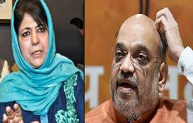 mehbooba mufti and amit...- Khabar IndiaTV