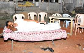 Andhra Pradesh: TDP MLA sleeps in crematorium to drive away fear- Khabar IndiaTV