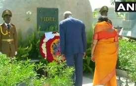 <p>Ramnath Kovind pays tribute to...- Khabar IndiaTV