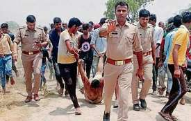 Uttar Pradesh: Viral photo shows man lynched in Hapur being dragged; police apologise | Twitter- Khabar IndiaTV