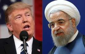 Donald Trump and Hassan Rouhani | AP- Khabar IndiaTV