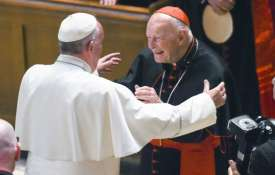 Pope Francis and Cardinal Archbishop emeritus Theodore McCarrick | AP- Khabar IndiaTV