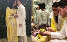 Priyanka Chopra and Nick Jonas Roka ceremony - Khabar IndiaTV