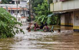 Kerala Flood Fury: Torrential rains, overflowing rivers, landslides kill over 160 | PTI- Khabar IndiaTV