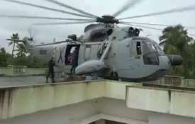 Rooftop landing of helicopter in Kerala- Khabar IndiaTV