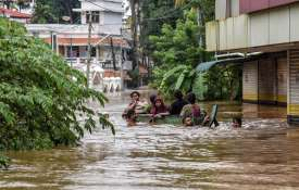 People being rescued from a flood-affected region...- Khabar IndiaTV