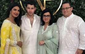 Priyanka Chopra, Nick Jonas with family- IndiaTV Paisa