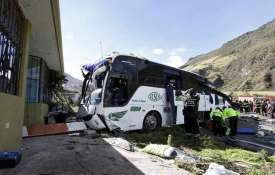 Bus crash in Ecuador kills 24 people...- Khabar IndiaTV