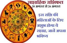 weekly horoscope 20 august to 26 august 2018- Khabar IndiaTV