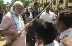 PM मोदी ने किया 'स्वच्छता ही सेवा आंदोलन' का शुभारंभ- India TV